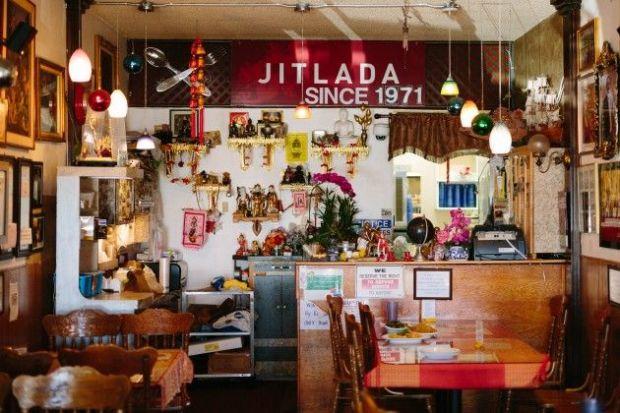 jitlada inside