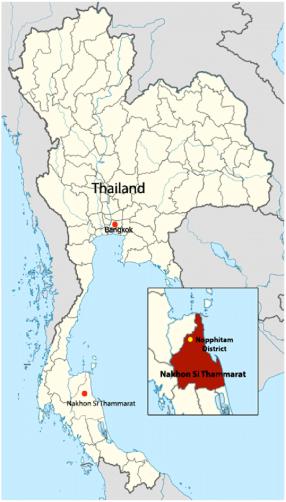 Nakhon map